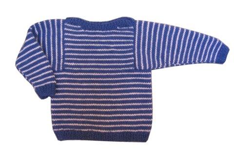 BlueStripedSweater
