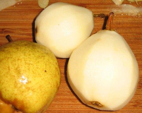 Peeled Pears