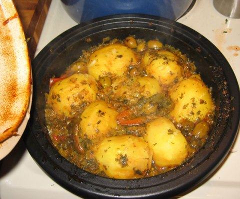 Tagine Cooked