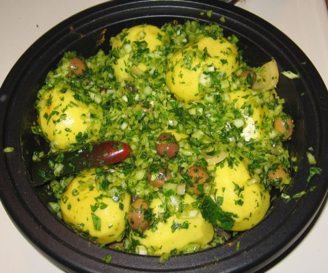 Tagine Uncooked