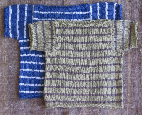 StripedLinenSweater