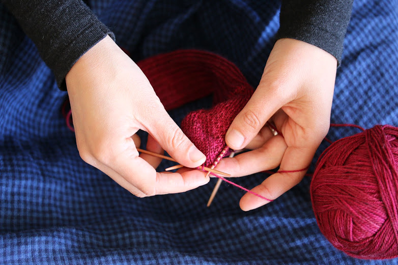 Knitting Joining Side Seams : Sewing knitting and cooking classes in san francisco